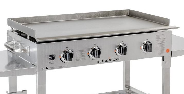 "blackstone 36"" stainless steel griddle burners"