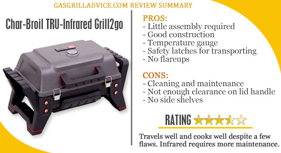 char-broil best portable gas grill