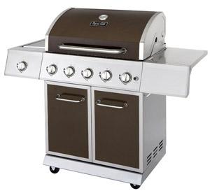 dynaglo 5-burner gas grill under $500