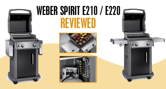 weber spirit e210 review