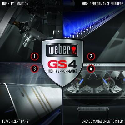 weber genesis II GS4